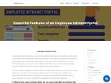 Employee Intranet Portal – Codenatives,USA