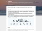 Choose the right DLT and Blockchain framework