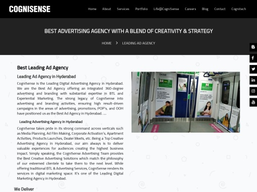 Best Ad Agencies in Hyderabad | Best Leading Ad Agency | Leading Ad Agency