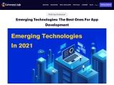 Emerging Technologies: The Best Ones For App Development