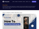 How to build a salon mobile application from scratch?