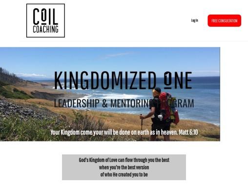 Kingdomized 1 Mentoring Program | Coil Coaching