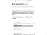 Coinbase pro login – Pro coinbase signin – Sign in step