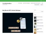 How to Buy Bitcoin in Detroit Michigan
