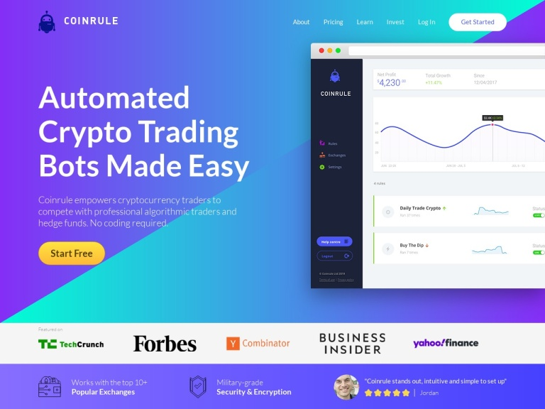 Coinrule Limited screenshot