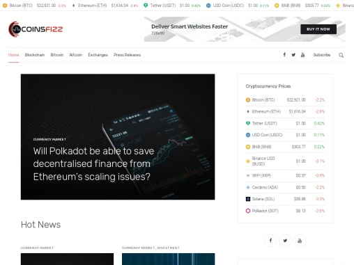 Coins Fizz – The crypto guides