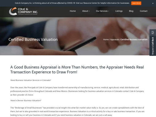 Business Valuation Denver   Business Valuation Services Colorado