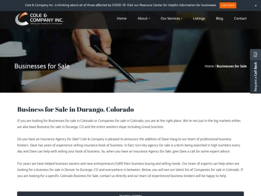 Businesses for Sale Durango CO   Durango CO Business for Sale