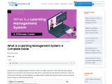 What is a Learning Management System: A Complete Guide