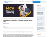 MCA Distance Learning – The Ultimate Guide 2021