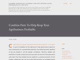 Combine Parts To Help Keep Your Agribusiness Profitable
