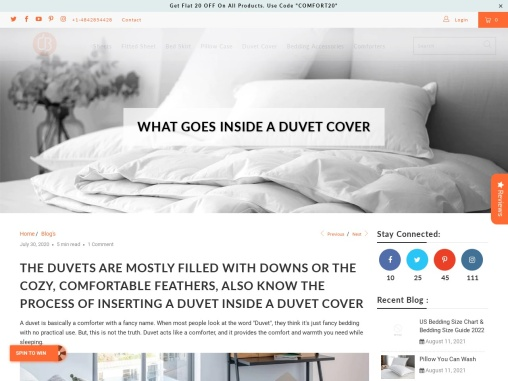 What Do You Put In A Duvet Cover?