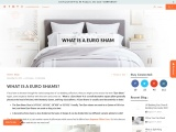 Buy euro sham size at affordable price.