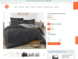 Enhance Your Bed Look With Dark Grey Duvet Cover