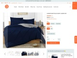 Enhance Your Bed Look With Navy Blue Duvet Cover