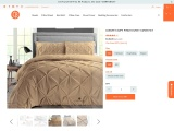 Make Over Your Bed Look With Taupe Duvet Cover
