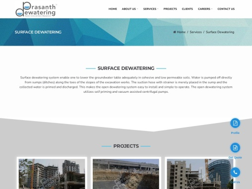 Dewatering Pumps and Dewatering Equipments in Construction