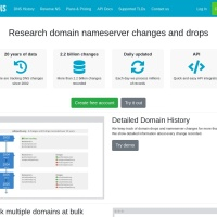 <br /> Research domain nameserver changes and drops