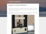Why should you use Compression Testing Machine?