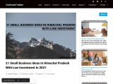 21 Small Business Ideas In Himachal Pradesh With Low Investment In 2021: Confused Indian