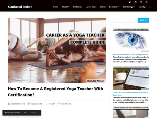 How to Become a Registered Yoga Teacher With Certification?: Confused Indian
