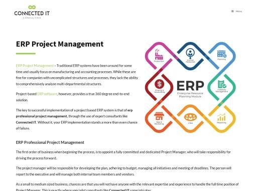 ERP implementation & Project Management Services