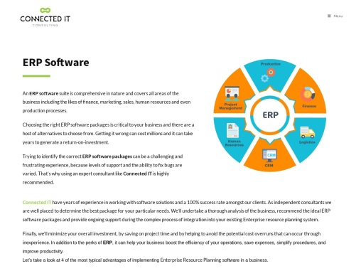 ERP Services – Small Business ERP Software Packages