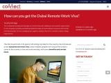 Get Dubai Remote Work Visa in Dubai by Connectresources