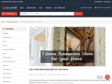 Top 7 Small Home Renovation Ideas   House Remodeling