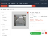 Aerobild AAC Blocks 4 inch-Online at low Price in Hyderabad