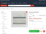 Get Latest Price of Birla Aerocon AAC Blocks in Hyderabad