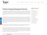 Political Campaign Management Services | Trivoli Consultancy