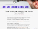 How to Find the Best Contractor in NYC – General Contractors NYC