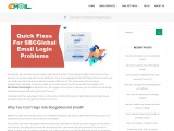 Quick Fixes For SBCGlobal Email Login Problems