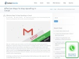 Effective Ways To Stop email Spoofing in Gmail