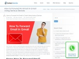 How to forward an email in Gmail on Android, iPhone