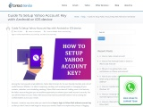 How To set Up Yahoo Account Key with Android or iOS device