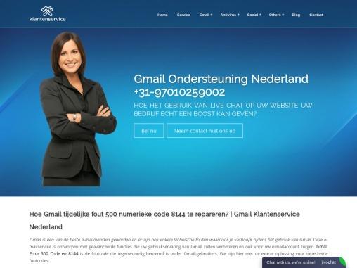 Hoe Gmail tijdelijke fout 500 numerieke code 8144 te repareren?   Gmail Klantenservice Nederland