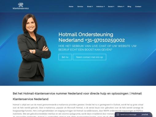 Bel het Hotmail-klantenservicenummer Nederland voor directe hulp en oplossingen:   Hotmail Klantense