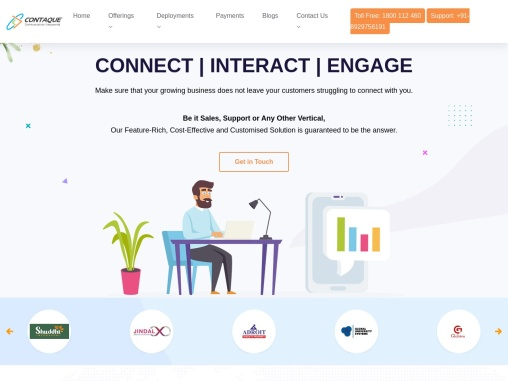Contaque – Cloud Call Center Software and Cloud Contact Center Solutions