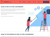PSD to Html Conversion | PSD to Html Development