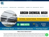 best aircon chemical wash singapore