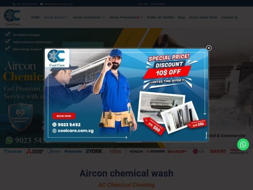 aircon chemical wash