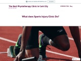 Sports Injuries Clinic and Its Need