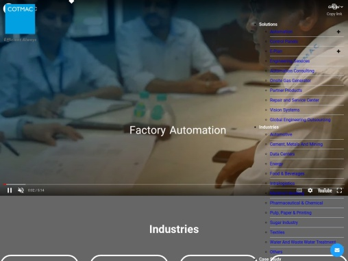 Turnkey Solutions in Industrial Automation in India | Cotmac Electronics