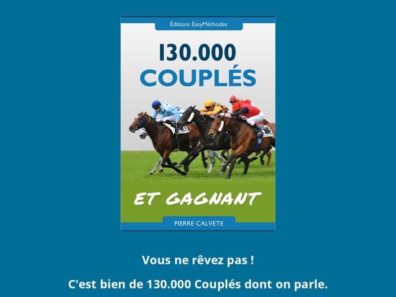 pmu methode: 130 000 couples et gagnant