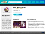 Jackpot party Shopping Tips (Discounted Coupon)