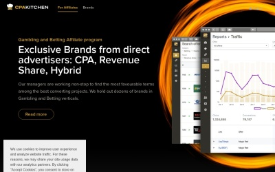 CPA Kitchen Website Preview