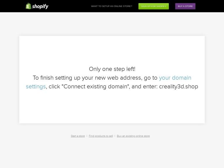 Creality 3D screenshot