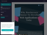 Why Businesses Choose To Develop Web Applications Today